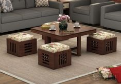 It is important to have friends and family in life? and Gathering over coffee with them is the key to release stress in life & when you have a coffee table with seating option your coffee time will be happening   Get this #PetlinCoffeeTable for the leisurely conversations in your #livingroom . Coffee Table With Seating, Coffee Table Design, Sofa Table Design, Modern Coffee Tables, Home Decor Furniture, Table Furniture, Luxury Furniture, Furniture Market, Centre Table Living Room