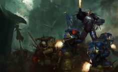 Dark Imperium: Plague War by Igor Sid Warhammer Fantasy, Warhammer 40k Art, Space Marine, Ultramarines, Gothic Wallpaper, Futuristic Art, Graphic Artwork, Art Blog, Les Oeuvres