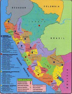 PARA MIS TAREAS: MAPA ECOLÓGICO DEL PERÚ http://paramitarea.blogspot.com/2011/07/mapa-ecologico-del-peru.html