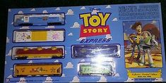 TOY STORY EXPRESS ELECTRIC TRAIN SET HO SCALE 1996 LE WALT DISNEY NEW SEALED NOS