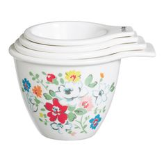 NEW Baking | Clifton Rose Measuring Cups | Cath Kidston - for recipes that require a cup of this or two cups of that etc
