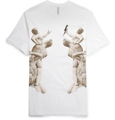 Neil Barrett - Printed Cotton T-Shirt|MR PORTER