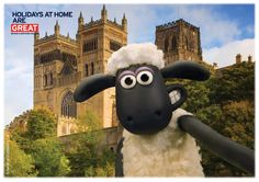 Shaun's been gallivanting around the country, visiting some iconic places for VisitEngland. Here he is at Durham Cathedral!