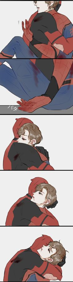Read from the story Imágenes Spideypool/SuperFamily Y Otros CANCELADA. Marvel Dc Comics, Marvel Fan Art, Marvel Jokes, Marvel Comic Universe, Marvel Heroes, Marvel Avengers, Spideypool, Superfamily, Deadpool X Spiderman