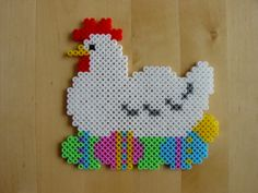Easter decoration hama beads by Hester