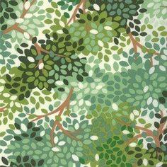 Momo blaadjes groen via julijasshop