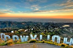 Been here quite a few times. It's always exciting & never gets boring... At least for me!   View from the Hollywood sign.