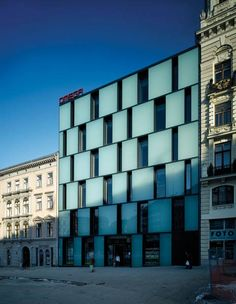 Kuba & Pilar architekti s.r.o.: Department store Omega, Svobody sq., Brno (8×):