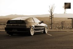 Honda CRX. One of the most beautiful cars ever made.....