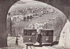 Hordaland fylke Bergen fjellbane Fløybanen. Foto: Normann