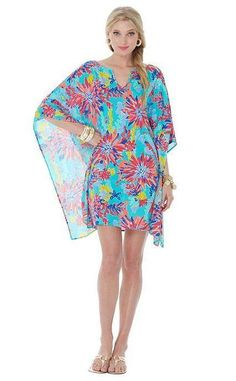 Lilly Pulitzer Resort '13- Stefani Dress in Aqua Trippin And Sippin