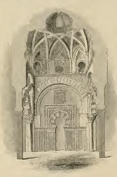 Interior of sanctuary at Cordoba