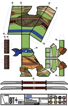 BIT+ Series 2 Leonardo by IdeatoPaperStudios
