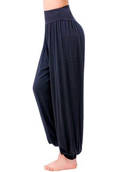 Ninimour- Womens Yoga Herem Pants Belly Dance Fitness Workout Pants (XL, Black) Ninimour http://www.amazon.com/dp/B00K446LNC/ref=cm_sw_r_pi_dp_jw2awb1JAMED0
