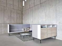 Office booth for coffee break LONGO | Office booth - ACTIU