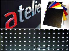 Kasetony reklamowe z Dibondu litery 3D Laptop, Electronics, Laptops, Consumer Electronics