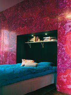 Beton, a světlé barvy - pohodlný domov
