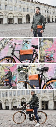 Escuro Bicycle Bag - Stylish and Functional by Roberto De Simone — Kickstarter
