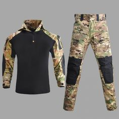 Shirt Pants Cargo Army Clothes Suit Tactical //Price: $38.22 & FREE Shipping // #interior #decor #homedecor Army Clothes, Clothes For Women, Tactical Shirt, Combat Training, Buy Shirts, Camouflage, Wetsuit, Morning Inspiration, Free Shipping