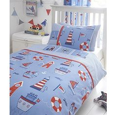 """Product review for BOAT YARD SHIP LIGHTHOUSE EMBROIDERED JUNIOR TODDLER BED DUVET COVER QUILT BEDDING SET by Kids Club.  - Includes 1 x Junior Duvet Cover and 1 x Pillowcase;50% Polyester / 50% Cotton;Duvet Cover: 120cm x 150cm, Pillowcase: 42cm x 60cm;Machine Washable;Luxury Embroidered Detail       Famous Words of Inspiration...""""It is not length of life, but depth of....  Continue reading at  https://www.bestselleroutlet.net/bedding/nursery-bedding/to"""