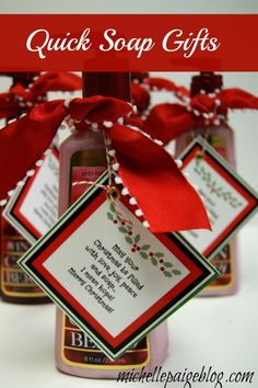 michelle paige: Quick Soap Gift for Christmas Christmas In Heaven Poem, Merry Christmas Quotes, Christmas Soap, Neighbor Christmas Gifts, Funny Christmas Gifts, Christmas Gifts For Friends, Neighbor Gifts, Christmas Humor, Christmas Fun
