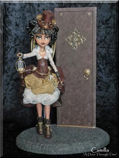 OOAK Steampunk Monster High doll
