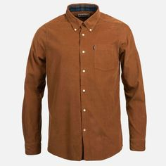 1c628da6612 Barbour Stapleton Morris Cord Tailored Shirt - Sandstone