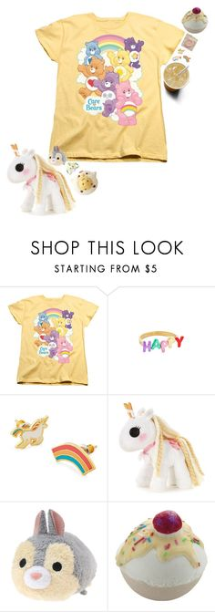 """sweet lil bby"" by maplesyruptears ❤ liked on Polyvore featuring Kate Spade, Yellow Owl Workshop, Lalaloopsy and Bomb Cosmetics"