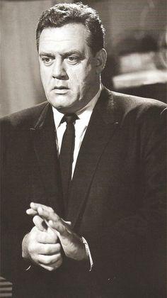 Raymond Burr as Perry Mason.