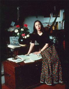Oriana nel 1979 nella sua casa di Greve in Chianti - Foto - Oriana Fallaci
