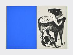 I am the walrus. by Marion Jdanoff Screen printed book 24,5 x 34 cm Edition of 40 Summer 2015