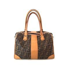 Vintage Fendi Bag - Vintage Fendi Handbag - Vintage Fendi Boston Bag - Fendi Logo Bag - Tan Leather Fendi - Tan Fendi Bag - Fendi Logo Bag by PepperMintRhino on Etsy https://www.etsy.com/listing/517015070/vintage-fendi-bag-vintage-fendi-handbag