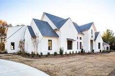 Acadian House Plans, French Country House Plans, Modern Farmhouse Plans, Farmhouse Style, Country Homes, Dream House Plans, House Floor Plans, 5 Bedroom House Plans, Dream Home Design