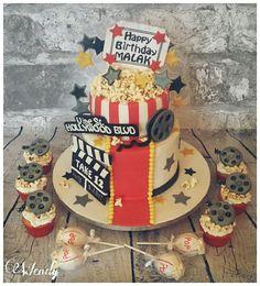 Cinema cake cupcake cakepops