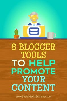 Do you want more exposure for your blog?  Looking for tools to increase visibility for the content you publish?  In this article, you��ll discover eight tools to help you reach a wider audience with your blog content. Via @smexaminer.