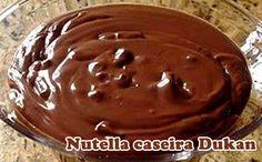 Receita de creme de avelã delicioso, a famosa nutella dukan.