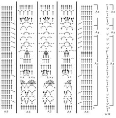 """Gehaakt DROPS vest met kantpatroon en ronde pas, wordt van boven naar beneden gehaakt met """"Cotton Light"""". Maat: S - XXXL. Gratis patronen van DROPS Design."""