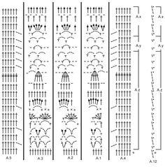 """Lacey Days Jacket - Casaco rendado DROPS em croché, com encaixe arredondado, crochetado de cima para baixo (top down), em """"Cotton Light"""". Do S ao XXXL. - Free pattern by DROPS Design"""