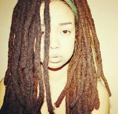 Thick locs - I LOVE this!!!!!