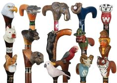 Walking Sticks walking canes custom hand carved sticks and canes