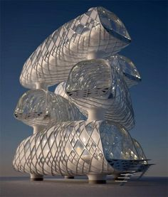 Aequorea amazing futuristic architecture concept by for Architecture futuriste ecologique