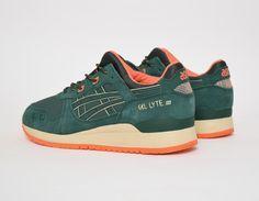 #Asics Gel Lyte III - Green - Outdoor Pack #sneakers