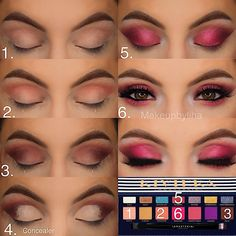 makeup set do you blend eyeshadow makeup eyeshadow james charles makeup pink for makeup eyeshadow revolution eyeshadow palette nykaa makeup for beginners makeup step by step Makeup Goals, Makeup Inspo, Makeup Inspiration, Makeup Tips, Makeup Tutorials, Make Up Palette, Eyeshadow Looks, Eyeshadow Makeup, Eyeshadow Palette