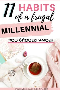 I'm a frugal millennial and in this post I share with you what we wish you knew! Do you ever wonder what frugal people do differently? Wonder no more! Living On A Budget, Frugal Living Tips, Frugal Tips, Financial Tips, Financial Planning, Money Saving Mom, Budgeting Money, Investing Money, Money Management