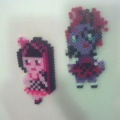 Monster High Draculaura Operetta perler bead sprite by megan_christine_creations