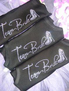 Hey, I found this really awesome Etsy listing at https://www.etsy.com/listing/174063029/bridesmaid-rhinestone-shirt-set-of-10