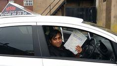 Mizan has passed his driving test.
