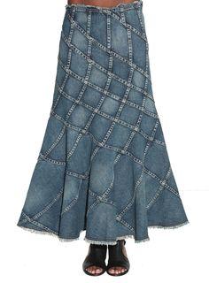 Junya Watanabe   Denim Skirt