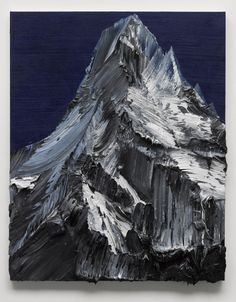 Powerful paint strokes capture the essence of mountains in these gorgeous artworks by Swiss painter Conrad Jon Godly Zermatt, Conrad Jon Godly, Mountain Paintings, Paintings Of Mountains, Mountain Drawing, Oil Painting Abstract, Knife Painting, Oil Paintings, Paint Strokes