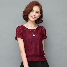 Plus Size XXL Autumn Korean OL Cardigan Women Striped Printed Lace ...